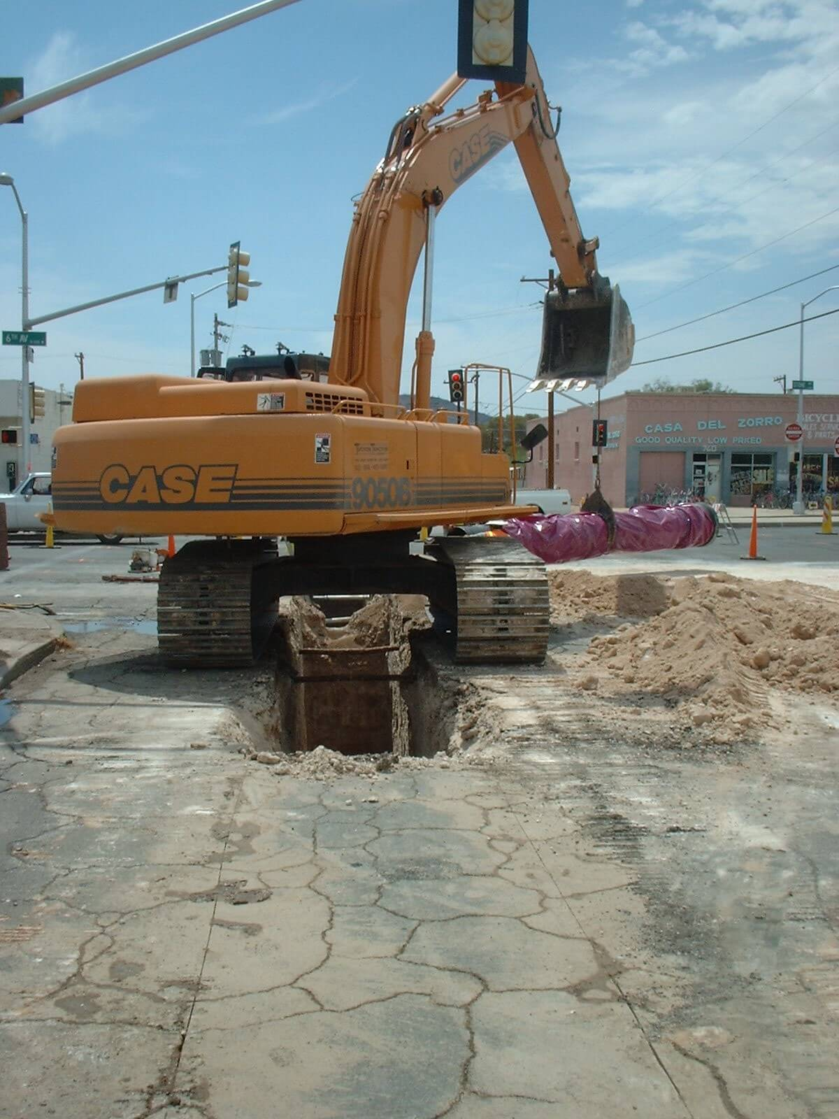 18th Street/10th Avenue Transmission Main