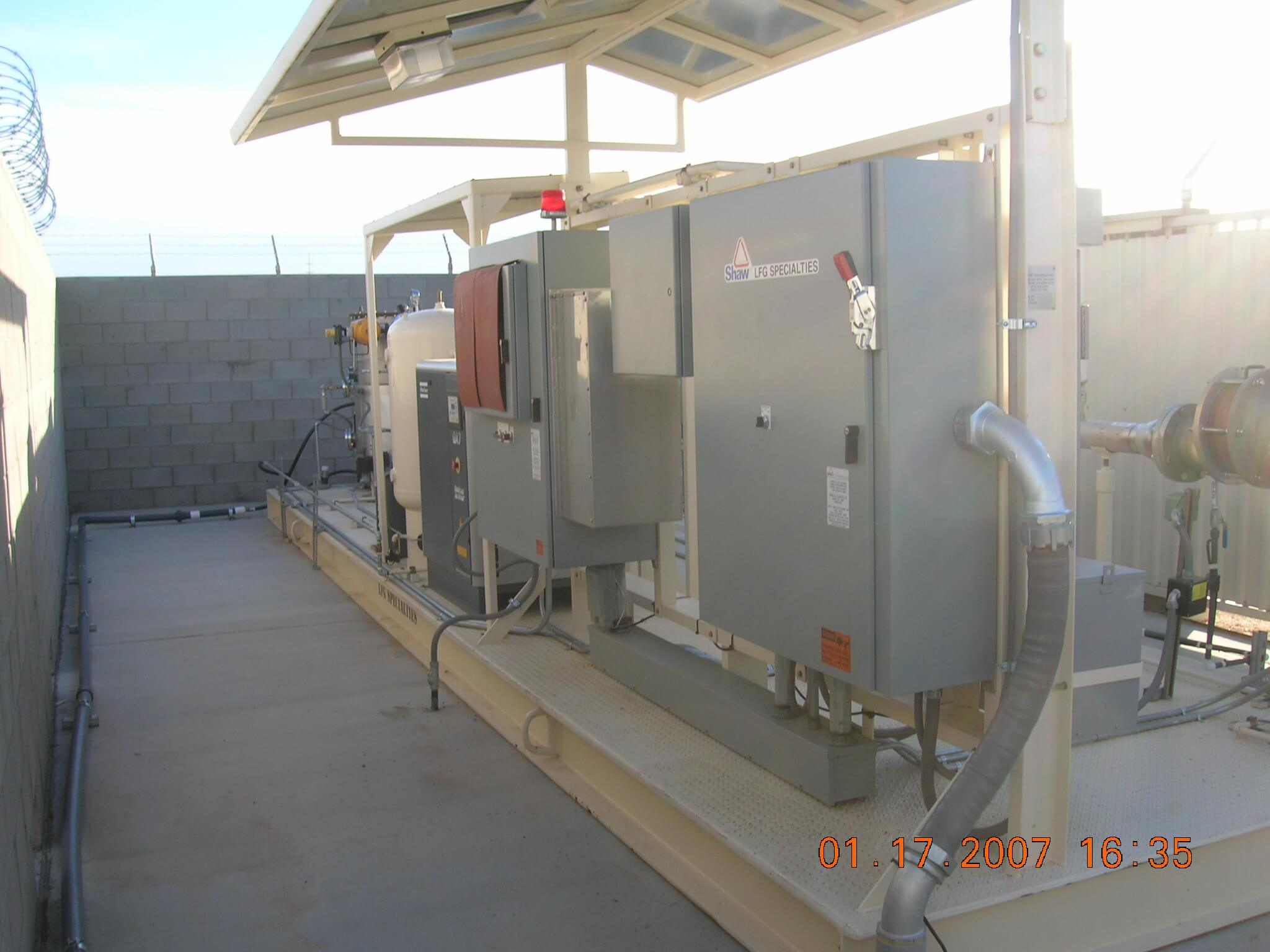 Landfill Gas Control and Remediation Systems O&M