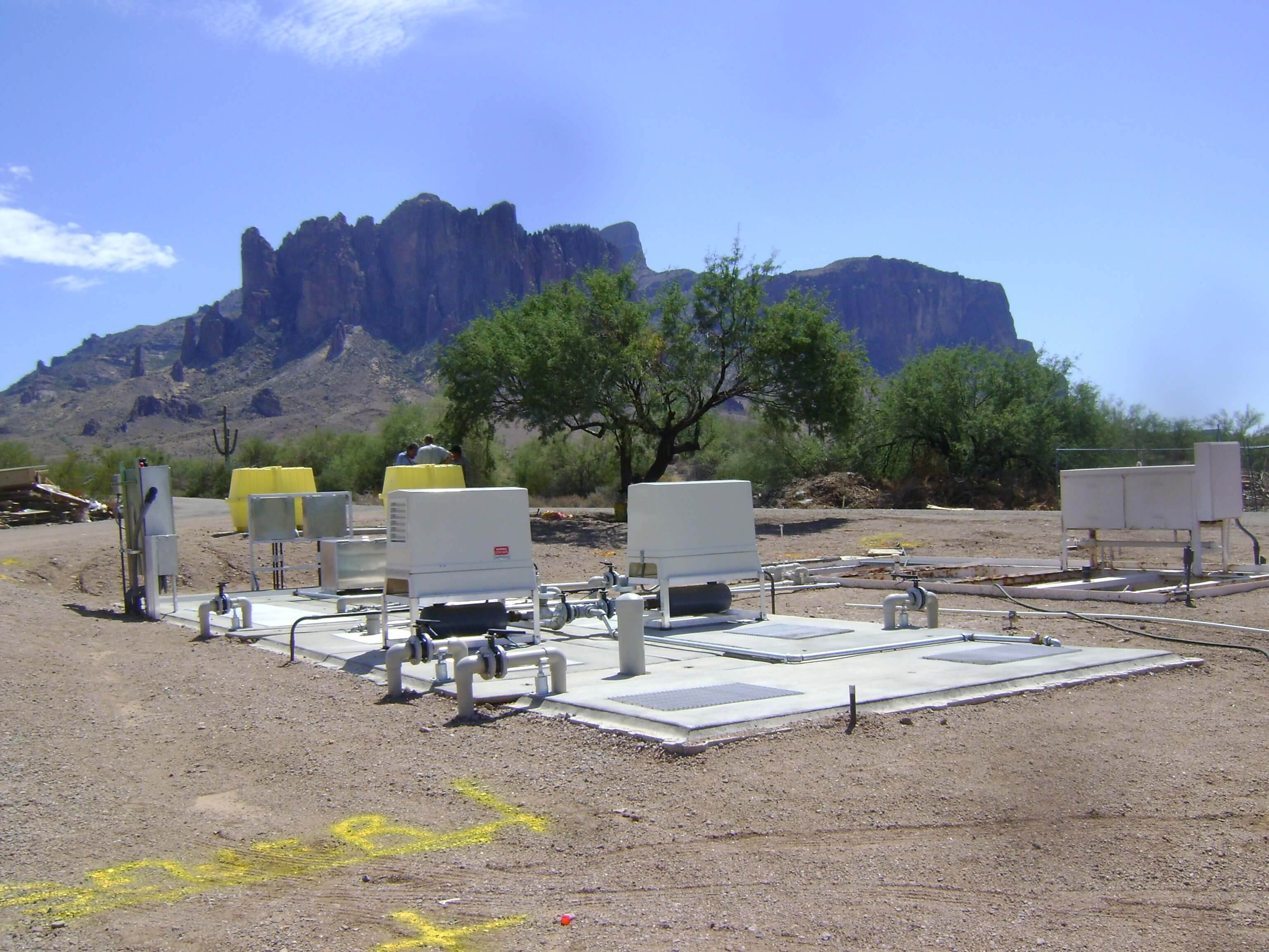 Lost Dutchman State Park WWTP and Lift Station